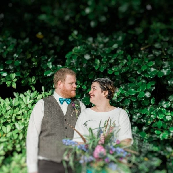 Natalia & Lloyd - Elopement Wedding Photography Mere Hall