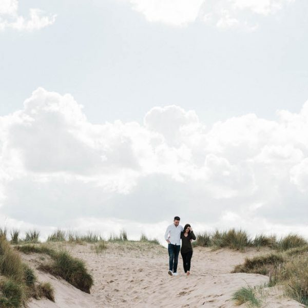 Poppy & Jonathan - A Beach Engagement