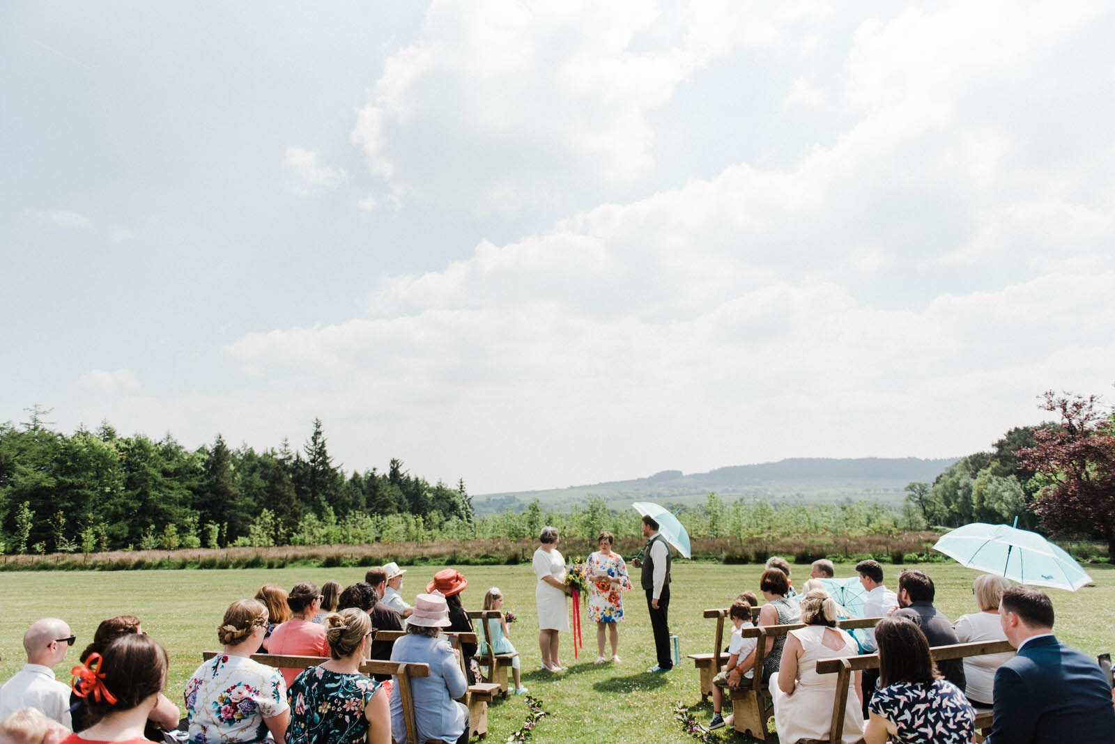 Outdoor Elopement wedding photography