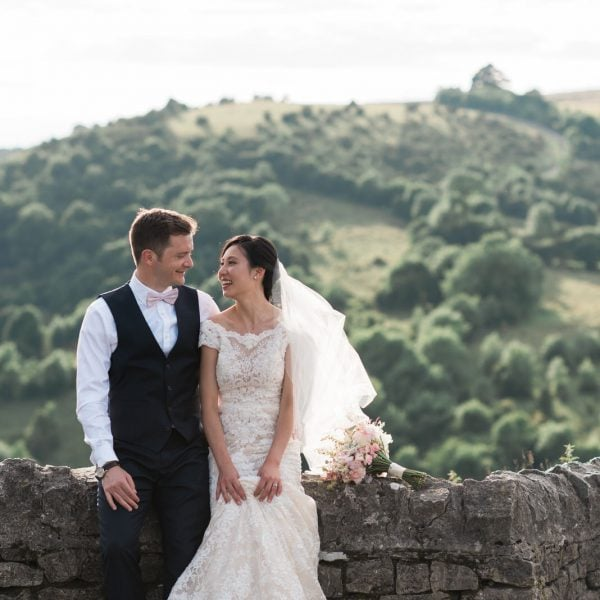 Wedding Photography at Cressbrook Hall - Alison & Daniel