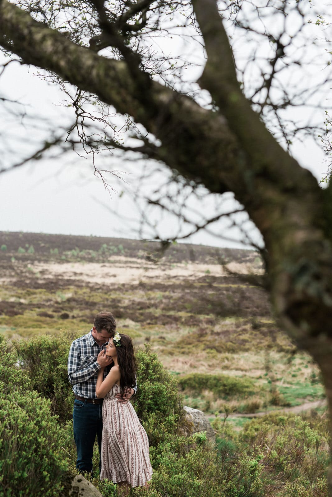Engagement Couple in Derbyshire