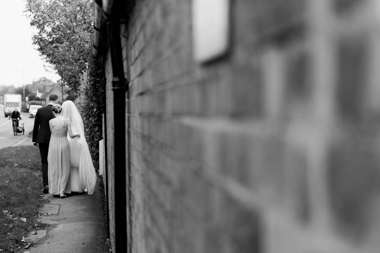 Old Vicarage Boutique Hotel wedding venue - Documentary wedding photography Nottingham